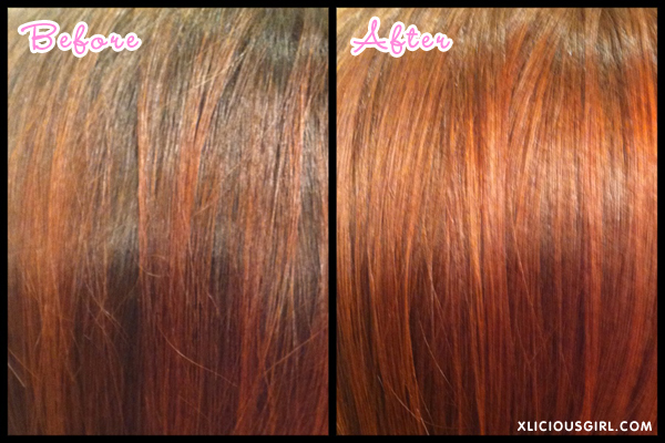 palty natural brown bleach hair dye before and after