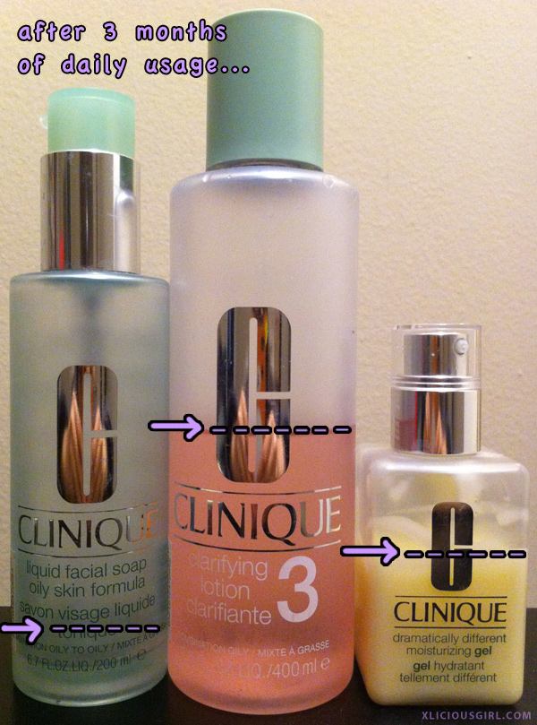 Clinique 3-Step Review