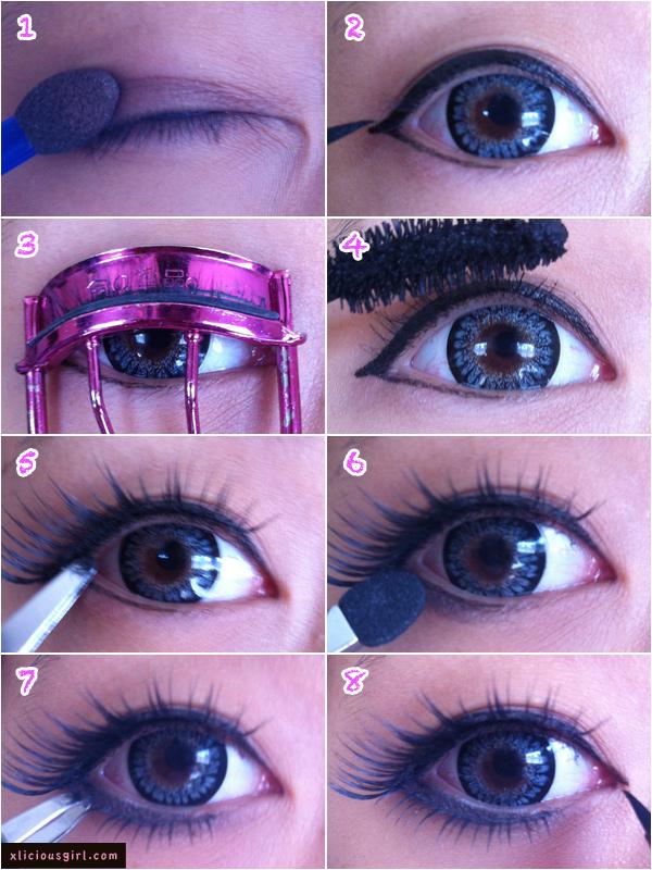 Как сделать свои глаза больше с помощью  34