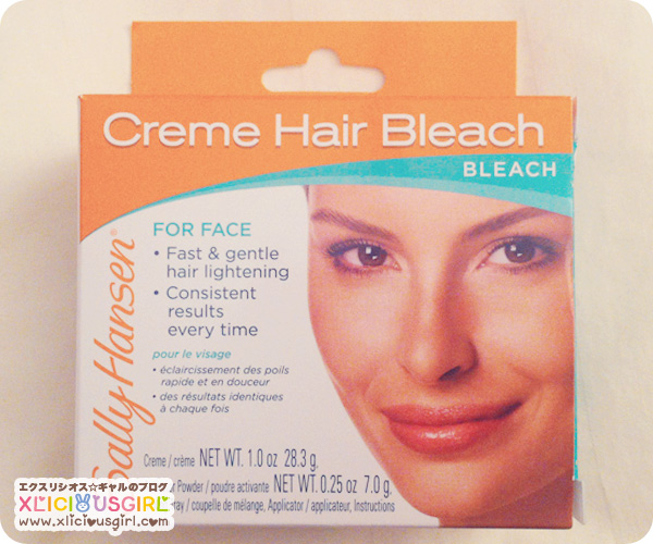 Sally Hansen Creme Hair Bleach Review (Eyebrows and Upper Lip Tested)