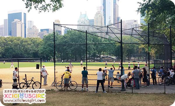 new york central park baseball field