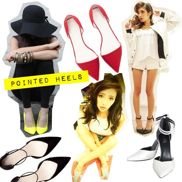 september 2013 gyaru fashion trends pointed heels