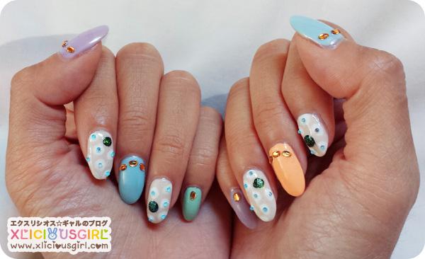gyaru nail art design