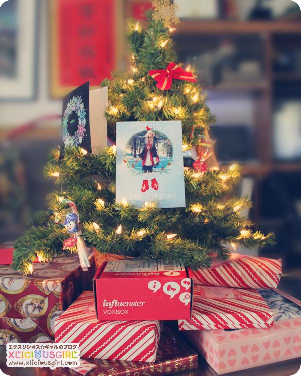 my christmas tree 2013 influenster jollyvoxbox