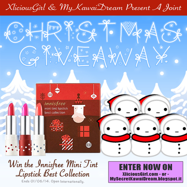 innisfree mini tint lipstick best collection christmas giveaway