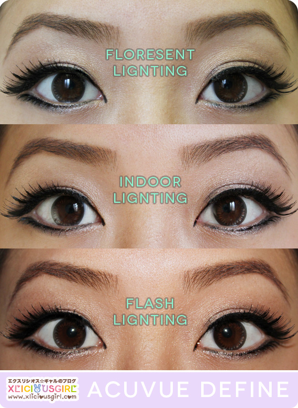 1 Day Acuvue Define Natural Shine Circle Lens Review