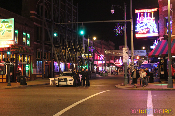 memphis Tennessee vacation trip december