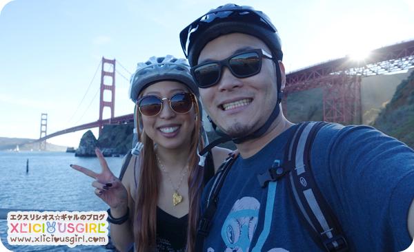 valentines day 2015 biking the golden gate bridge