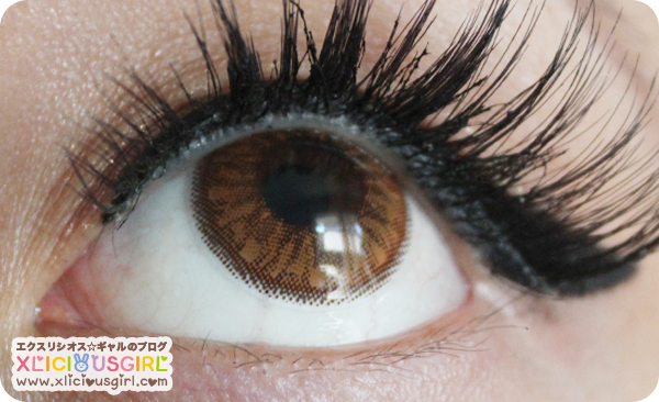 bunny color circle lens klenspop review