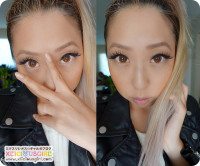 Bunny Color Brown Circle Lens Review