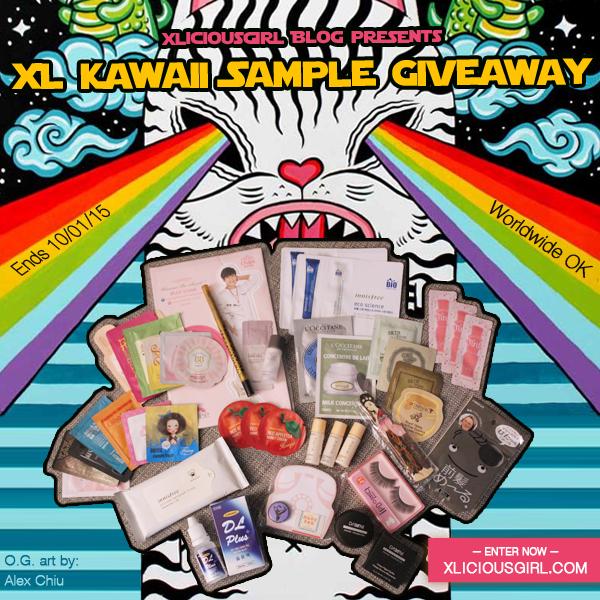 xliciousgirl xl kawaii samples giveaway