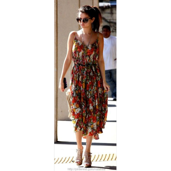 selena gomez fashion 2015 summer spring fall dress